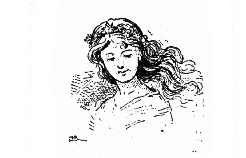 La Fata turchina (illustrazione di Carlo Mazzanti)