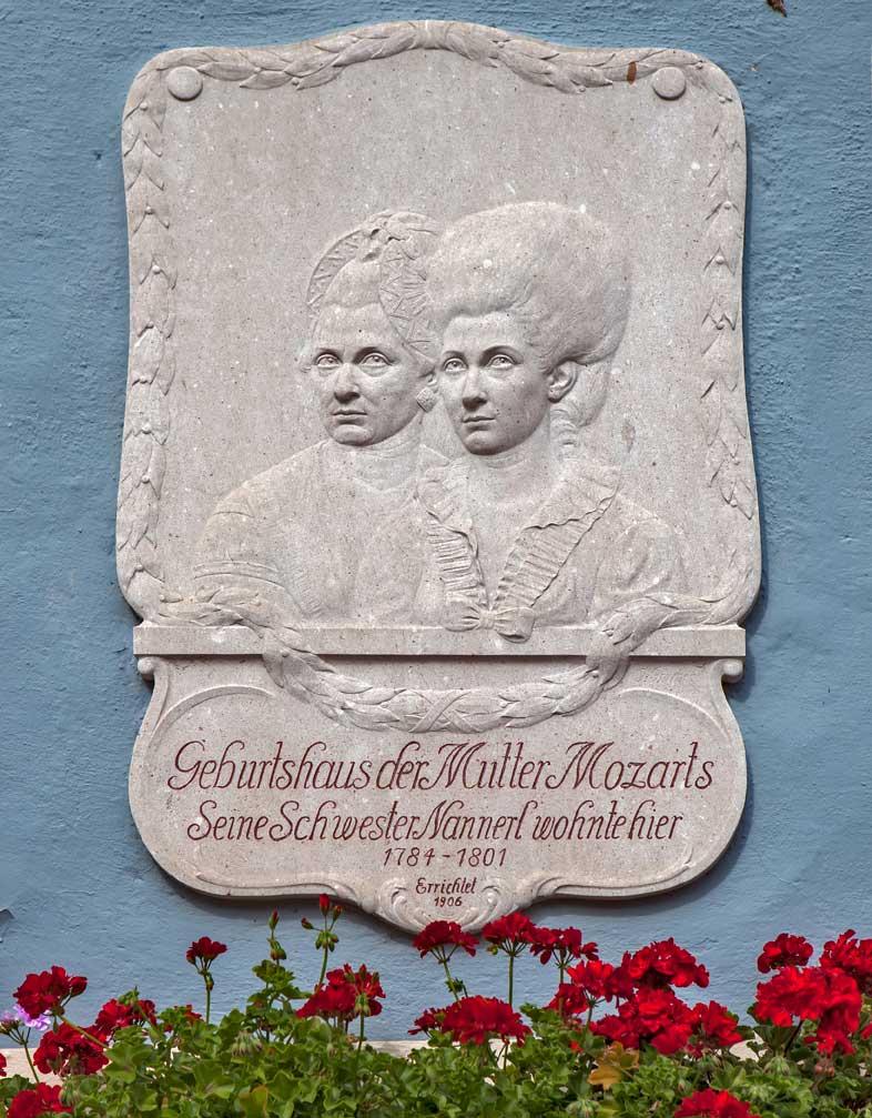 La casa dove visse Nannerl Mozart