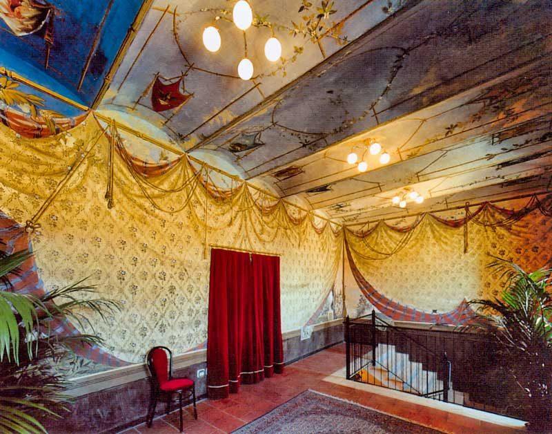 Il foyer del Teatro della Concordia
